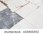 Old And Broken Floor Tiles