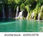 plitvice lakes | Shutterstock . vector #633413576