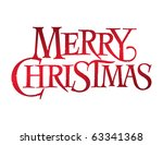 classic holiday vector... | Shutterstock .eps vector #63341368