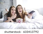 a pajama party  entertainment... | Shutterstock . vector #633413792