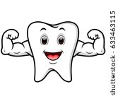 vector illustration of strong... | Shutterstock .eps vector #633463115