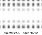 abstract halftone dotted... | Shutterstock .eps vector #633478292