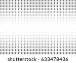 abstract halftone dotted... | Shutterstock .eps vector #633478436