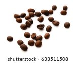 coffee beans grain | Shutterstock . vector #633511508