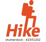 hike | Shutterstock .eps vector #63351202