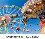 vintage merry go round and... | Shutterstock . vector #6335350