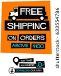 free shipping on orders above...
