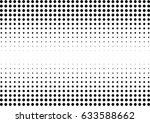 abstract halftone dotted... | Shutterstock .eps vector #633588662