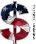 dollar signs. illustration eps...   Shutterstock .eps vector #633598418