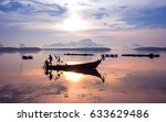 Early Morning Fishing Boat...