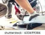 details of professional worker... | Shutterstock . vector #633699386
