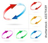set  4 of different colored...   Shutterstock .eps vector #63375439