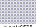 colorful striped horizontal... | Shutterstock . vector #633776252