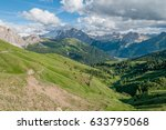 beautiful mountains at...   Shutterstock . vector #633795068