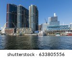 darling harbour with barangaroo ... | Shutterstock . vector #633805556