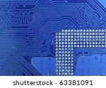 circuit board   Shutterstock . vector #63381091