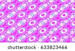 pink abstract background. 3d... | Shutterstock . vector #633823466