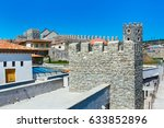 view of the famous fortress... | Shutterstock . vector #633852896