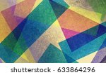 colorful abstract background... | Shutterstock . vector #633864296