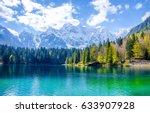 Mountain lake water landscape...