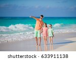 family walking on white... | Shutterstock . vector #633911138