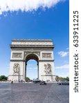paris  france   august 28  2016 ... | Shutterstock . vector #633911225