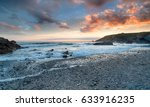 Sunset Over The Beach At Churc...