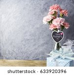 happy mothers day message on...   Shutterstock . vector #633920396