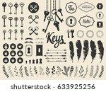 vector illustration with design ... | Shutterstock .eps vector #633925256