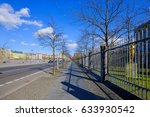 path way in berlin germany | Shutterstock . vector #633930542