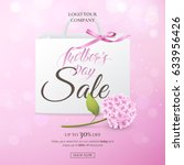 vector sale poster for... | Shutterstock .eps vector #633956426