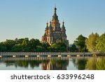 russia. cathedral of st. the... | Shutterstock . vector #633996248