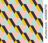 geometrical pattern | Shutterstock .eps vector #634008755