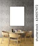 meeting area interior design  ... | Shutterstock . vector #634057472