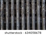 dirty grill above | Shutterstock . vector #634058678