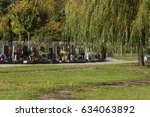 Cemetery In Central Europe ...