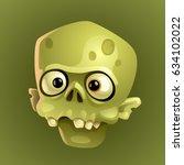 zombie 1 | Shutterstock .eps vector #634102022