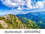 Small photo of Mountain range landscape