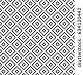 squares pattern  monochrome... | Shutterstock .eps vector #634120442