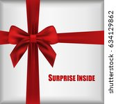 vector surprise inside open... | Shutterstock .eps vector #634129862