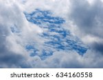 Cloud With Combination Of...