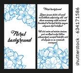vintage delicate invitation...   Shutterstock . vector #634171586