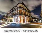 downtown french quarters new...   Shutterstock . vector #634192235