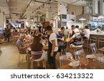 new york  us  august 25  2015 ... | Shutterstock . vector #634213322