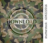 download on camo pattern