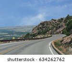 scenic descent from mt scott ... | Shutterstock . vector #634262762