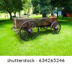 Old Cart. Old Horse Cart Used...