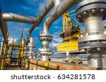 offshore the industry oil and... | Shutterstock . vector #634281578