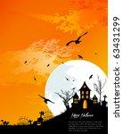 halloween background | Shutterstock .eps vector #63431299