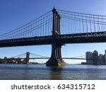 Manhattan Bridge And Brooklyn...